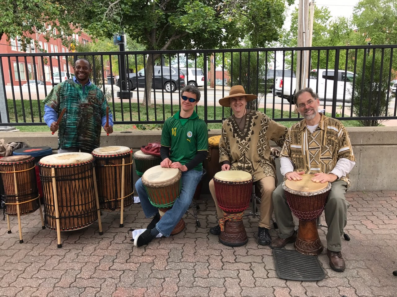 Echoes of Africa Drumming Ensemble
